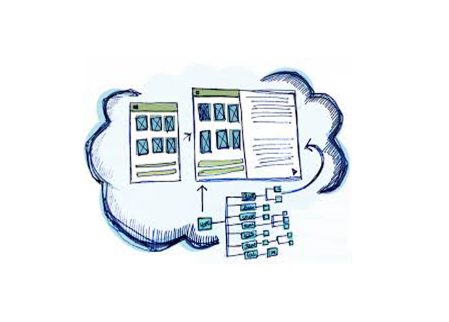 mapas de contenidos y wireframes