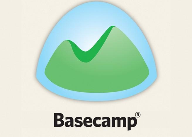 Logo de basecamp