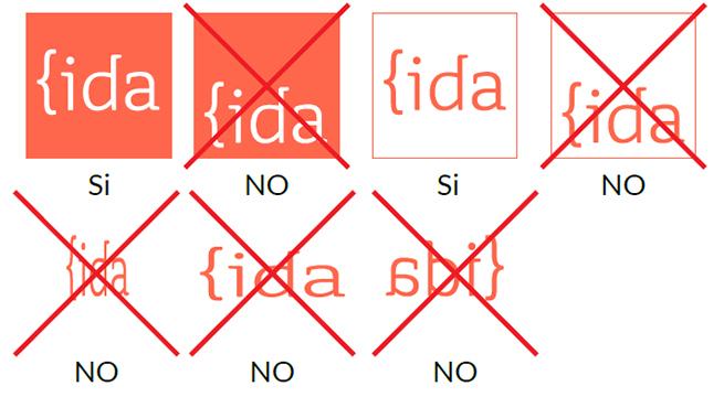 tipos de logo de IDA