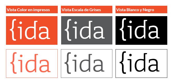 versiones del logo de IDA