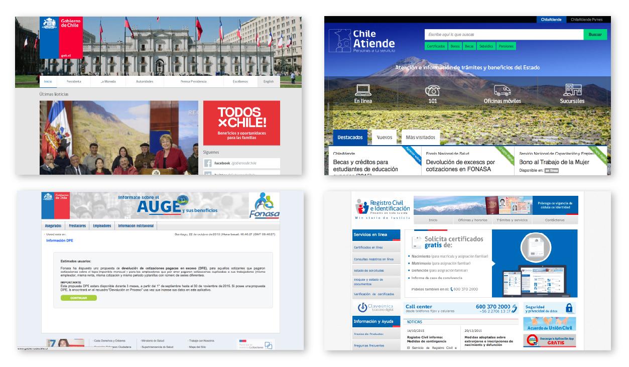 Sitios del Gobierno de Chile
