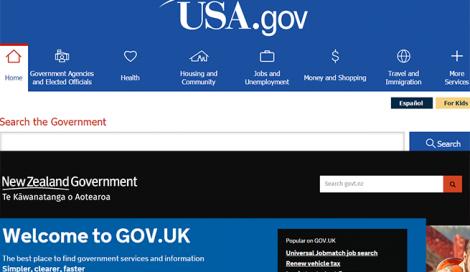 Imagen de Presentación de servicios en sitios de gobierno