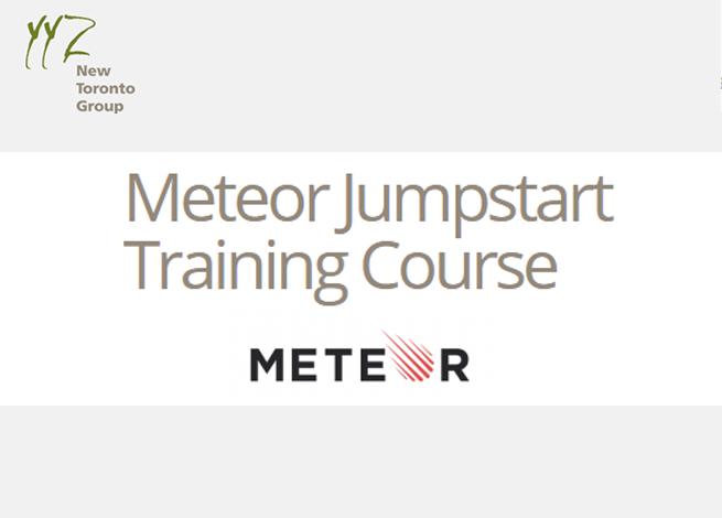 Meteor Jumpstart Training Course