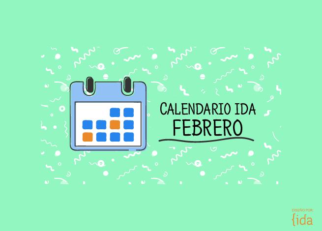 Calendario de eventos febrero