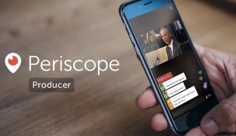 Imagen de Periscope Producer, streaming de alta calidad para los medios