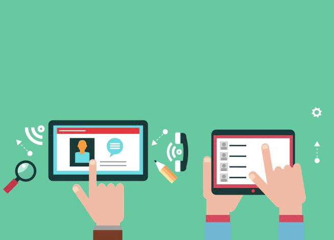 interfaz de usuario en tablets