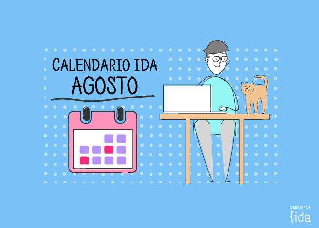 Calendario de eventos agosto