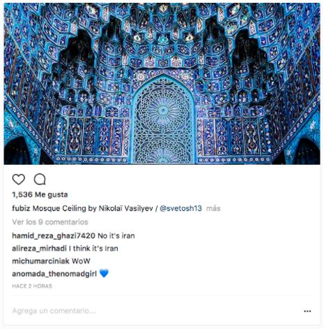 Visualización de una publicación de Instagram