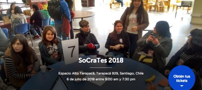 Evento SoCraTes de julio