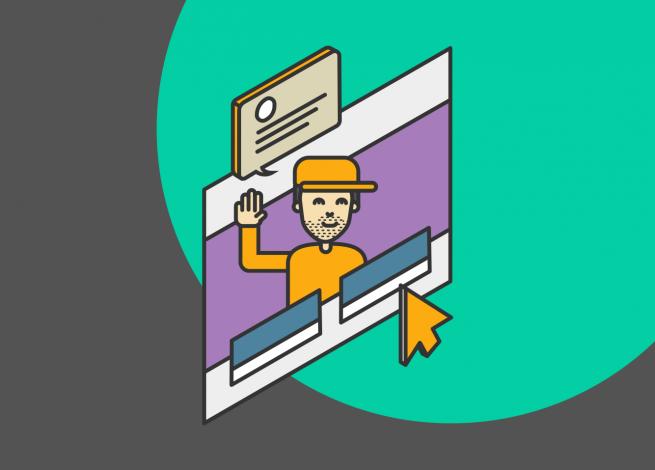 """Ilustración sobre """"Combinando los canales online y offline para mejorar la experiencia de usuario"""""""