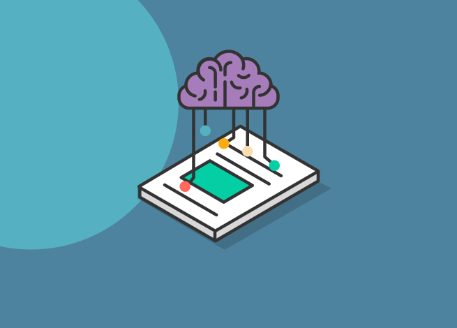"""Ilustración sobre """"La importancia y eficacia del smart content""""."""