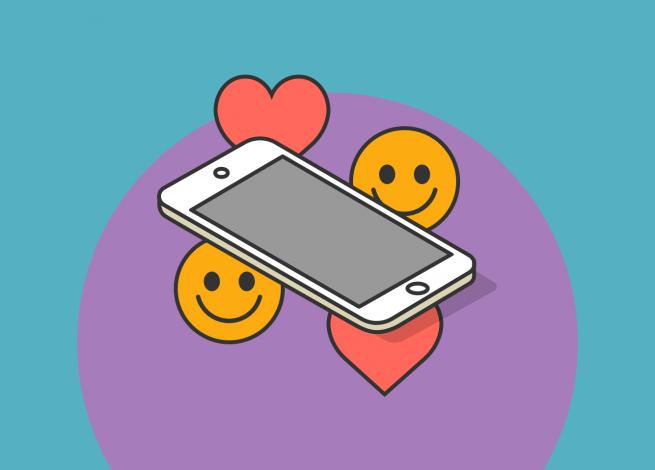 """Ilustración sobre """"Emojis como un nuevo lenguaje para el marketing"""""""