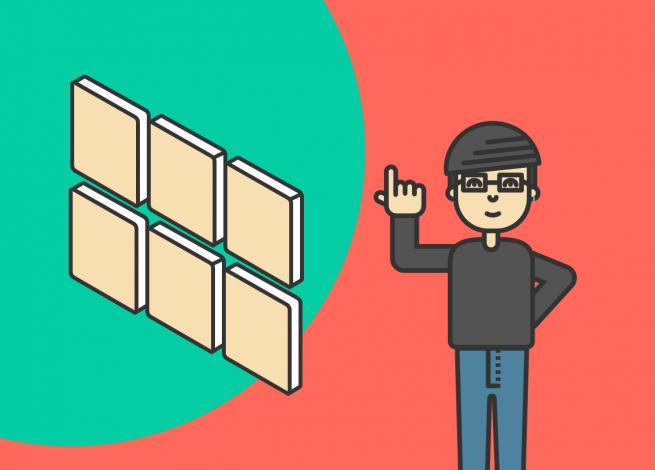 Ilustración para artículo sobre la utilización de Flexbox