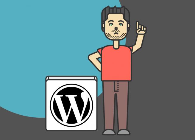 Ilustración sobre Gutenberg en WordPress 5