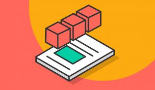 Ilustración para artículo sobre archivos PDF y visualización de datos.