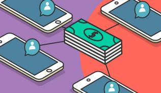 Ilustración para artículo sobre la compra de seguidores
