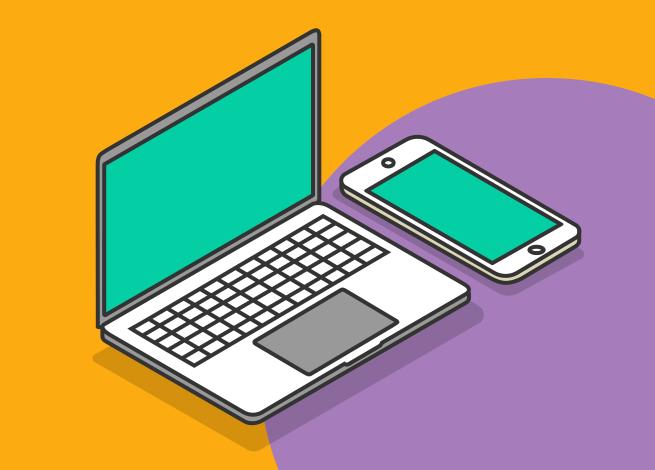 Ilustración para artículo sobre el dialogo entre dispositivos
