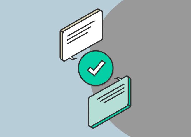 Ilustración para artículo sobre cómo mejorar la interacción con usuarios a través de mensajes directos