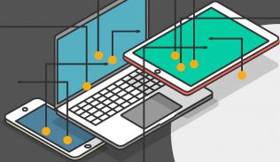 Ilustración para artículo sobre hipervínculos y experiencia de usuario