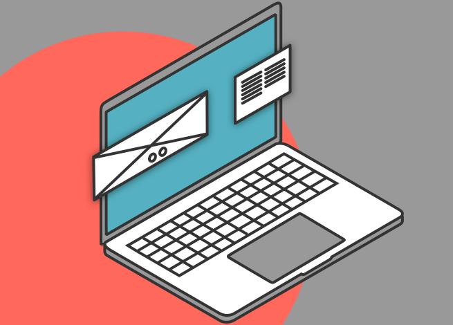 Ilustración para artículo sobre cómo diseñar interfaces web escaneables