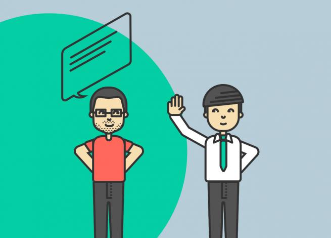 Ilustración para artículos sobre las preguntas que nos hacemos al iniciar un nuevo proyecto digital.