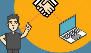 Ilustración para artículo sobre cómo generar confianza con el diseño de nuestros sitios web