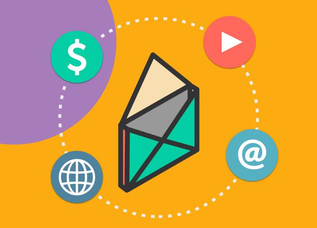 Ilustración para artículo sobre métricas de email marketing.