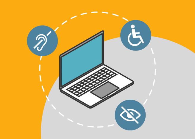 Ilustración para artículo sobre cómo desarrollar sitios accesibles a través del Microcopy