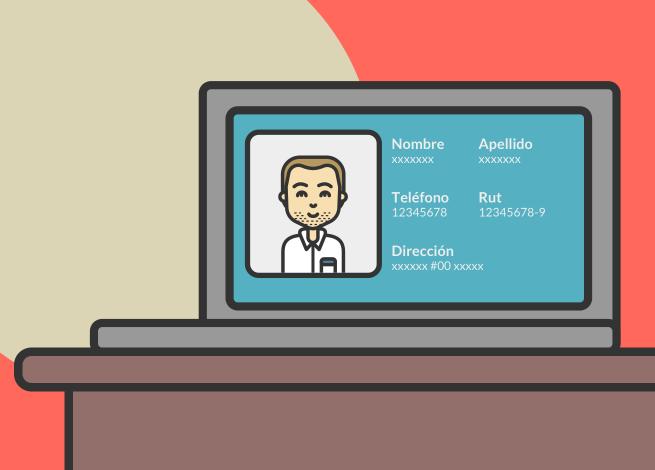 Ilustración para artículo sobre protección de datos personales.