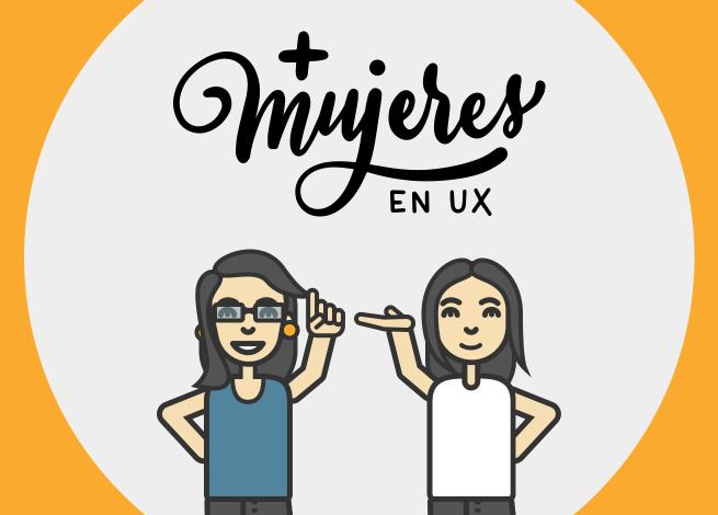 Ilustración para artículo sobre el directorio de Más Mujeres en UX