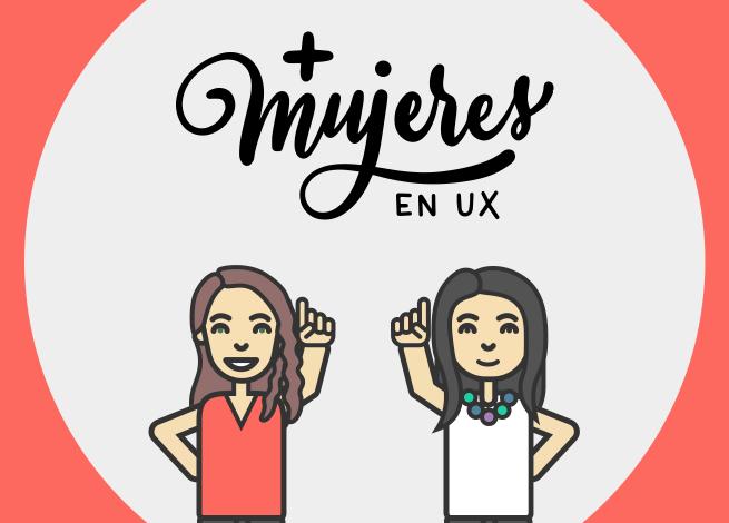 Ilustración para artículo aniversario de más mujeres en UX.