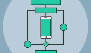 Ilustración para artículo sobre algoritmos en redes sociales