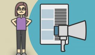 Ilustración para artículo sobre la importancia del contenido en las estrategias de marketing