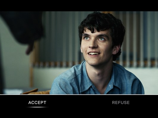 Selector de decisiones en Bandersnatch