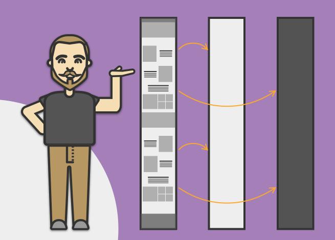 Ilustración para artículo sobre diseño participativo para el diseño UI.