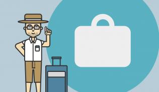 Ilustración para artículo sobre Google Trips