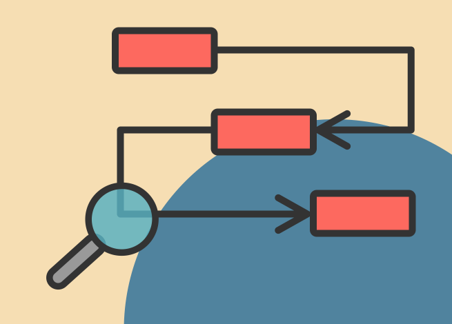 Ilustración para artículo sobre herramientas de investigación para el diseño.