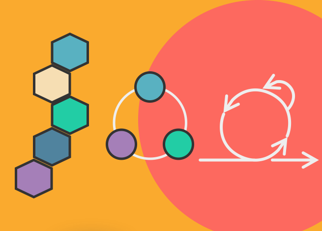Ilustración para artículo sobre Agile, Lean y Design Thinking
