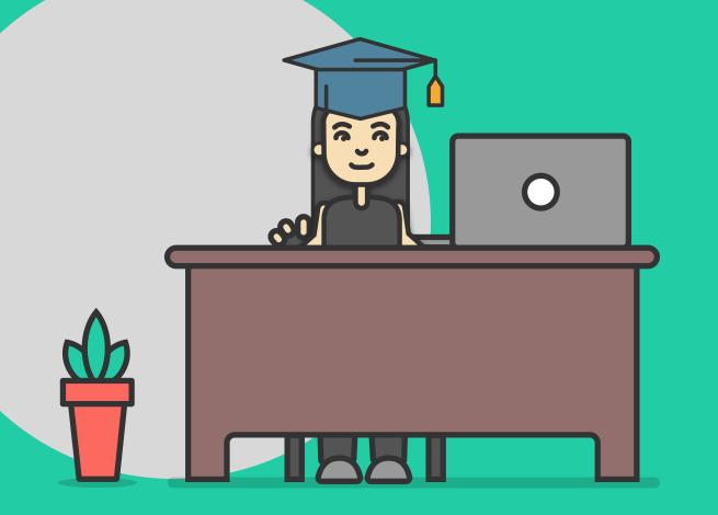 Ilustración para artículo sobre capacitación en línea