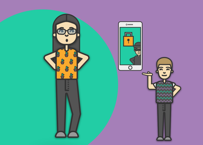 Ilustración para artículo sobre el día de la internet segura
