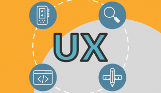 Ilustración para artículo sobre formación y especialización de profesionales UX