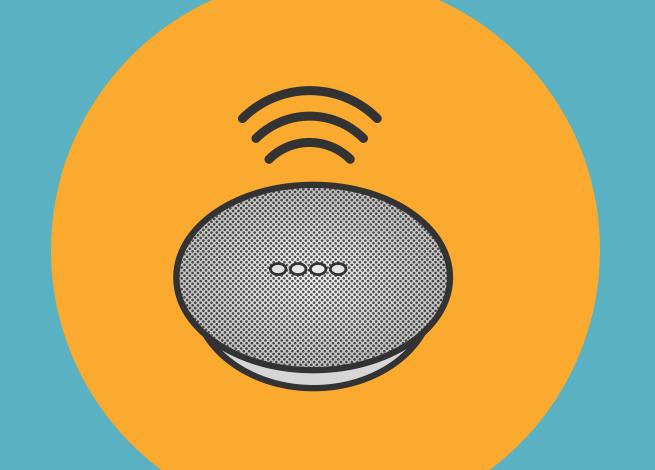 Ilustración para artículo sobre el futuro de las interfaces de voz
