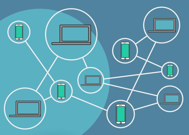 Ilustración para artículo sobre qué es blockchain