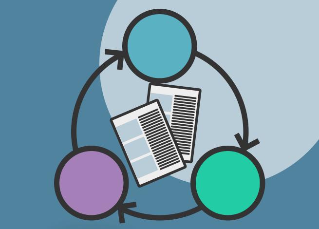 Ilustración para artículo sobre UX Content