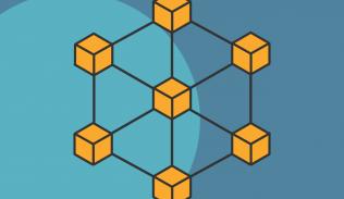 Ilustración para artículo sobre usos de blockchain