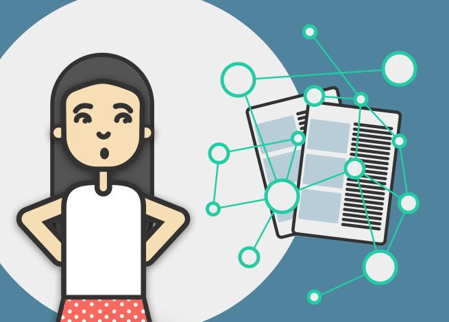 Ilustración para artículo sobre visualización de datos