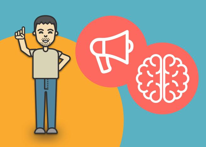 Ilustración para artículo sobre psicología y marketing