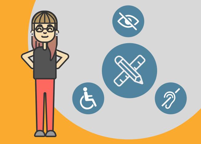 Ilustración para artículo sobre accesibilidad y diseño.