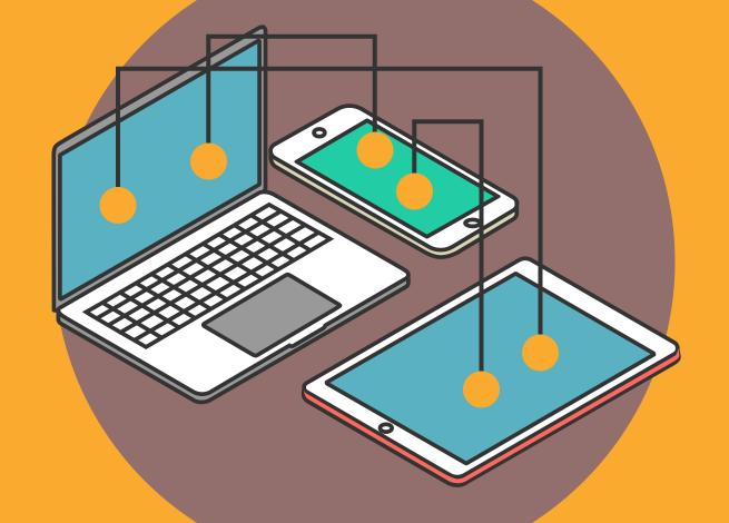 Ilustración para artículo sobre botones en mobile