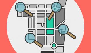 Ilustración para artículo sobre segmentación geográfica